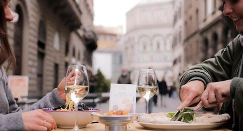 Il pranzo da Eataly Firenze nel dehors