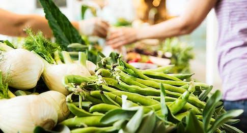 Le verdure del Mercato di Eataly