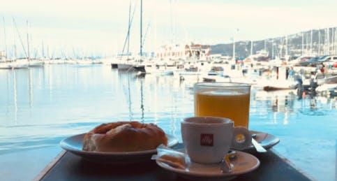 La colazione al Bar di Eataly Trieste
