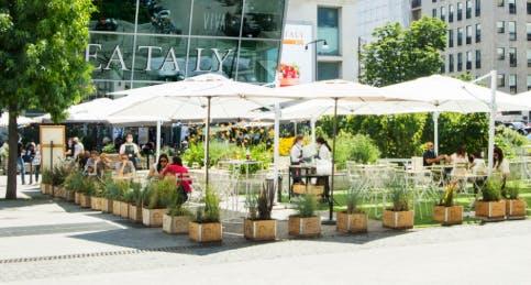 Eataly all'aperto Milano Smeraldo