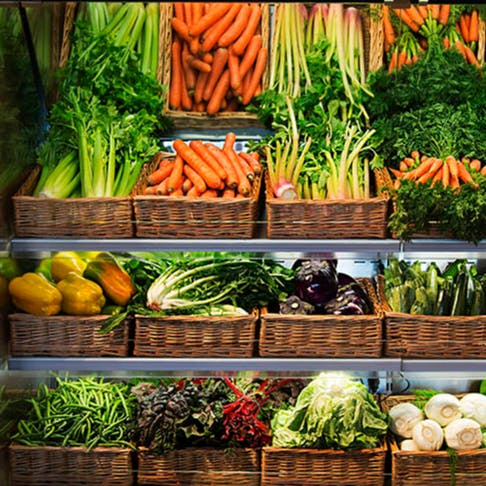 Le verdure fresche di Eataly