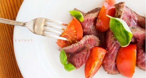 I piatti di Eataly: la tagliata di carne