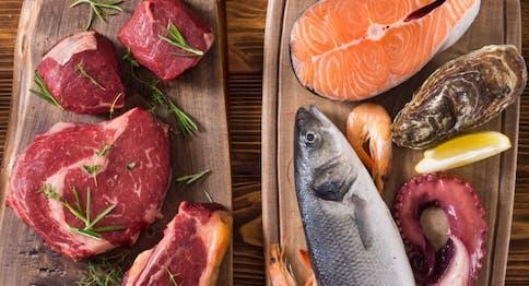 La carne e il pesce - Macelleria e Pescheria Eataly