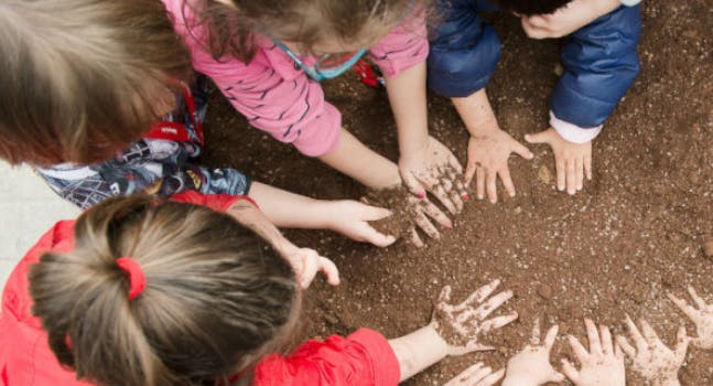 Bambini nell'orto - Eataly