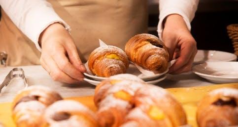 La colazione da Eataly con le brioche