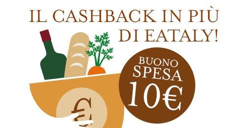 Il Cashback in più di Eataly Roma