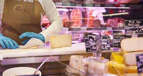 Salumi, formaggi e latticini