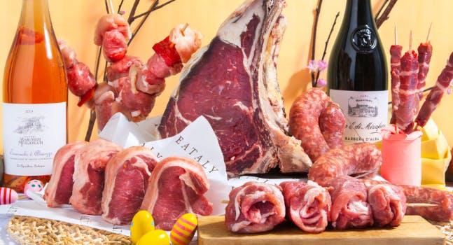 La Pasqua di Eataly: carne Macelleria e vino