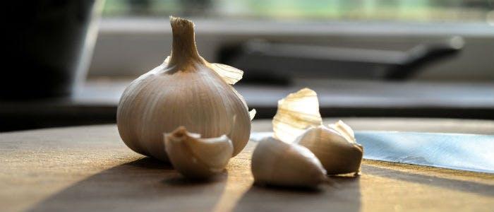 pesticidi naturali aglio