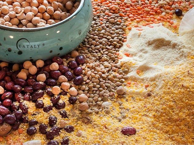 Legumi, Cereali e farine