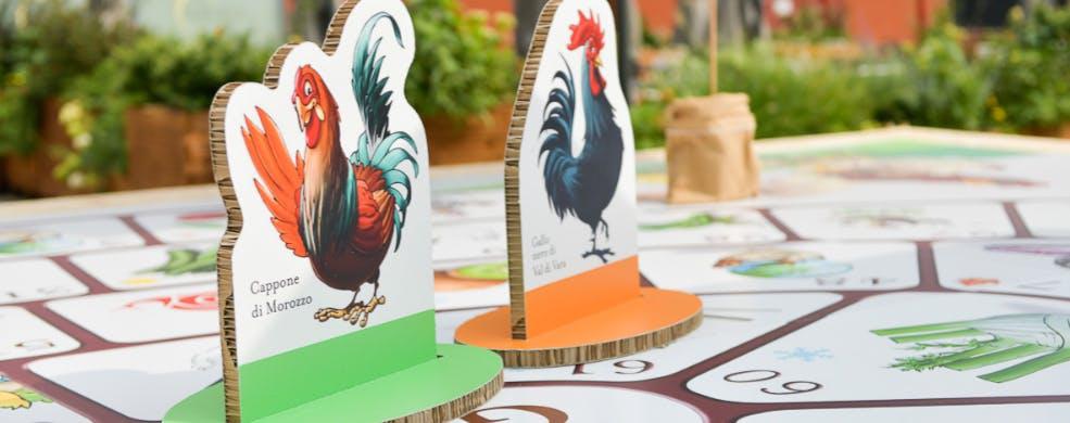 Gioco della gallina - Didattica per le scuole