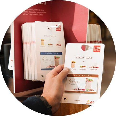 Carta pregata Eataly Card