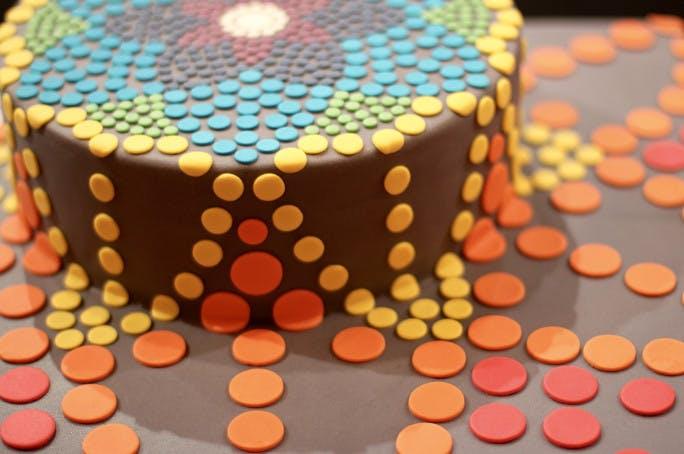 torta cioccolato plastico