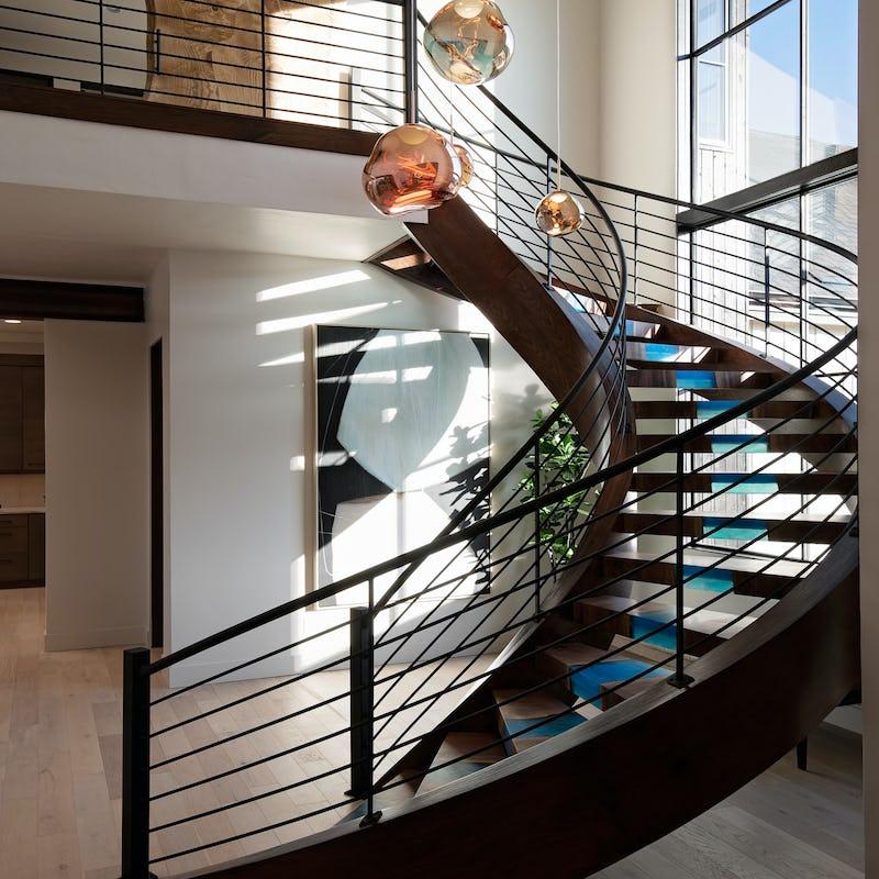epoxy staircase