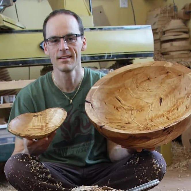 epoxy-woodturning