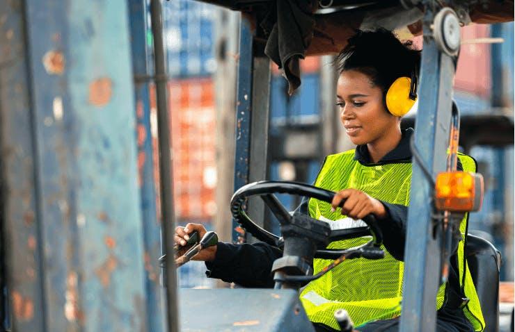 Forklift Training -  OSHA Train, Basic Forklift Safety