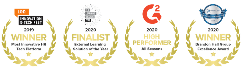Award winning platform