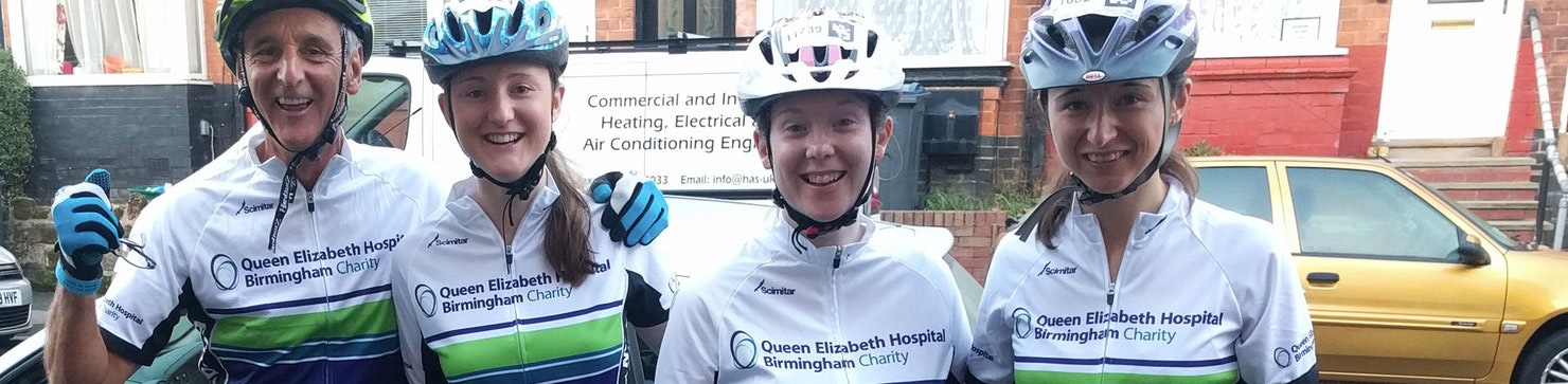 QEHB Virtual Velo Cyclists