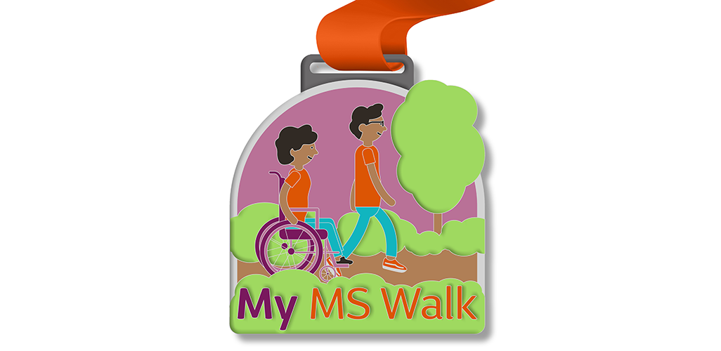 My MS Walk - Medal