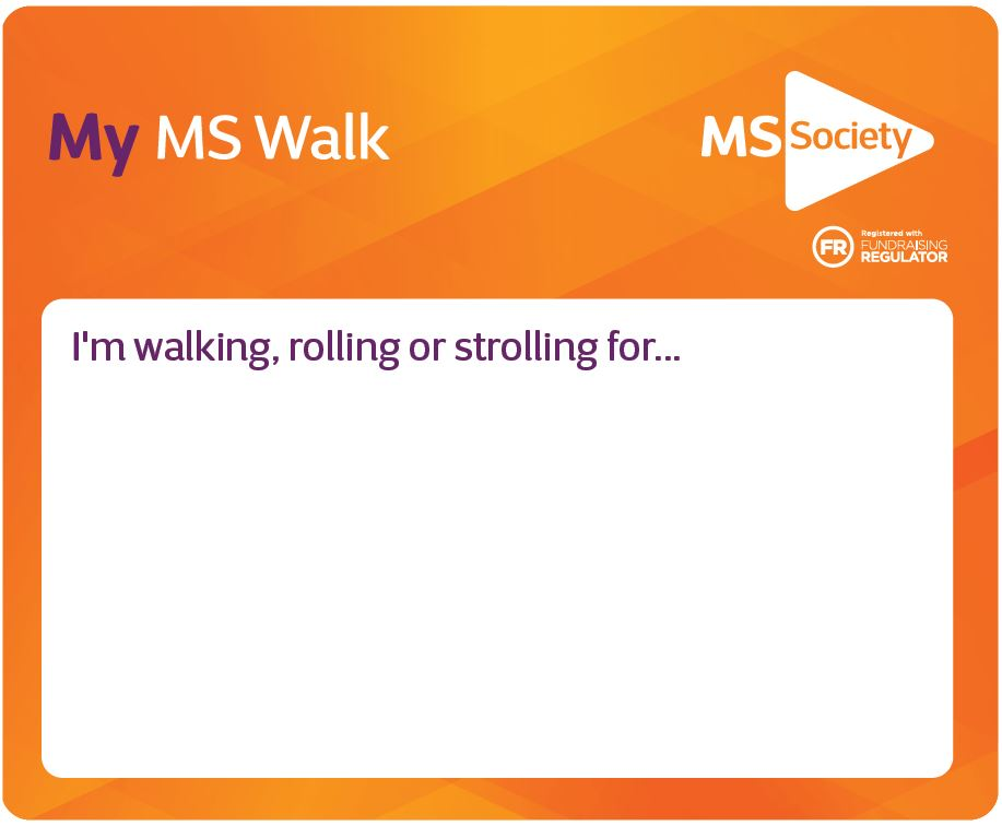 MY MS Walk Patch - Download Resource