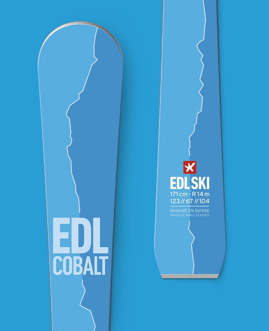 ski edl cobalt
