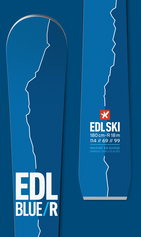 ski edl blue/r