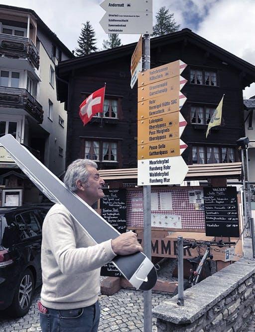 Luigi Venini, the builder