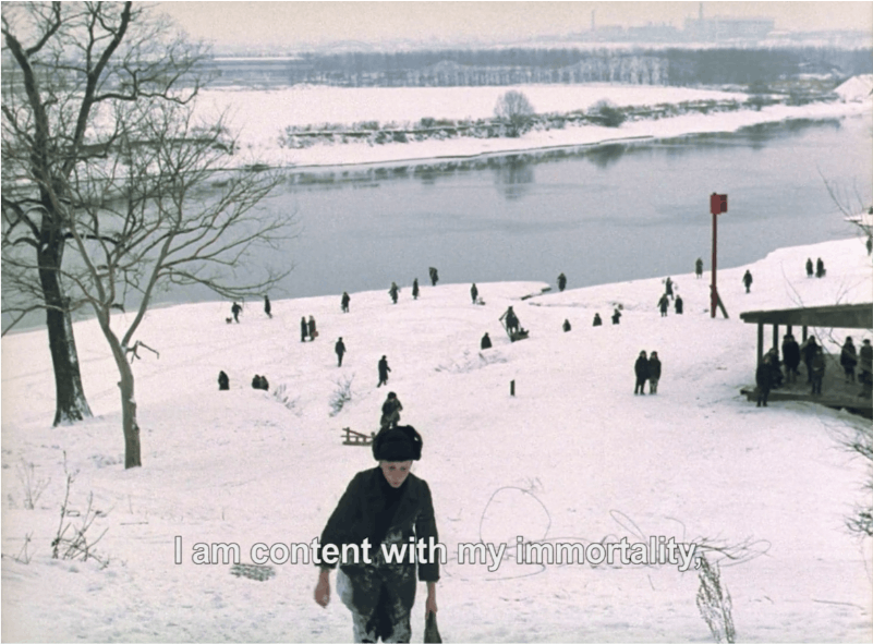 Still from Tarkovsky's Mirror