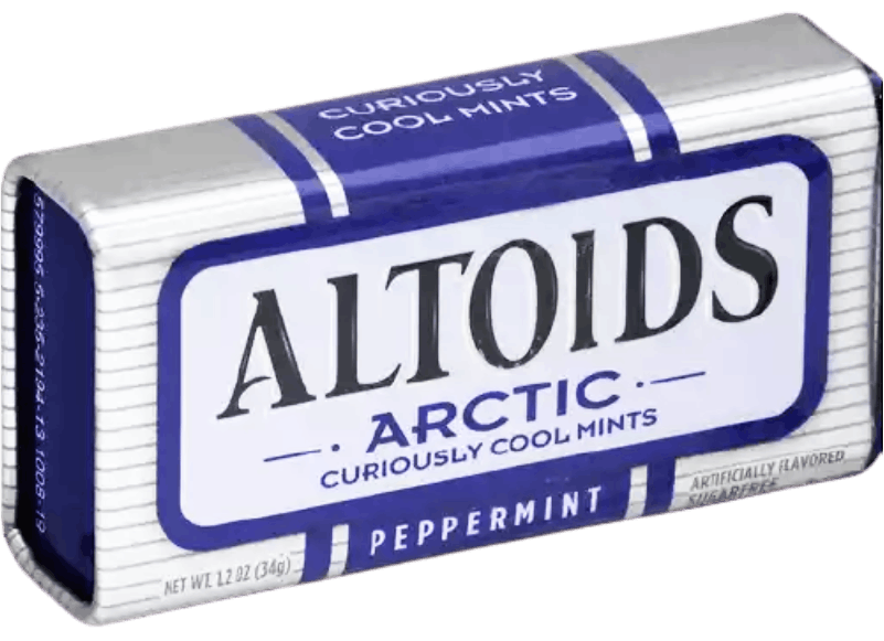 Altoids Arctic Peppermint Box