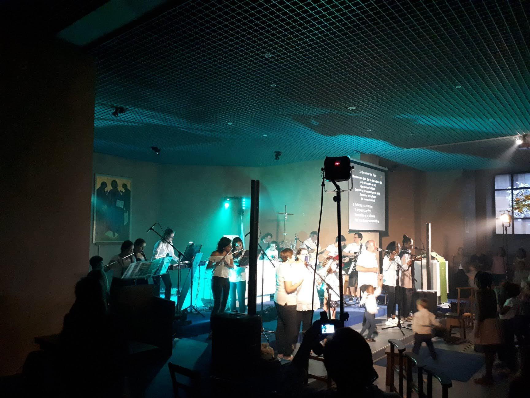 Fête de la Saint Jean 2018 à l'église Notre-Dame-de-la-Salette à Suresnes