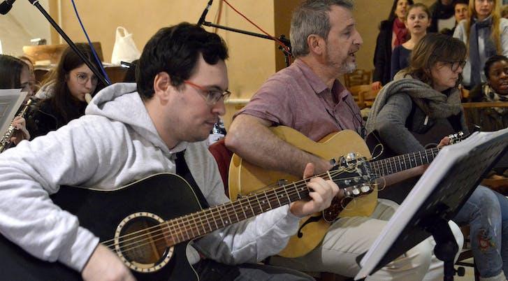 Nos guitaristes chez les PPR