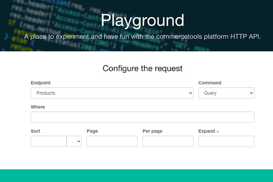 API Playground