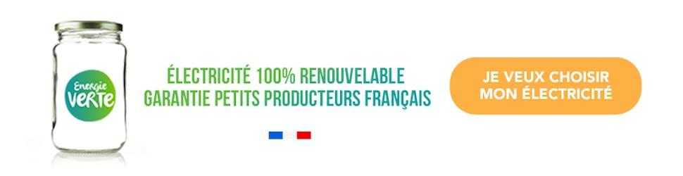 Offre d'électricité renouvelable