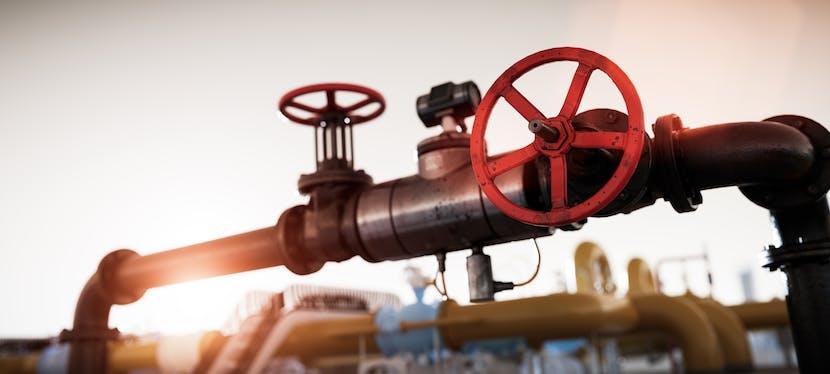 Un tuyau qui transporte aussi bien du gaz naturel que du biogaz appelé aussi gaz vert ou biométhane