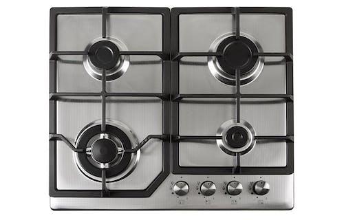Un plaque de cuisson à gaz