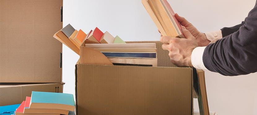 Astuce emballage demenagement pour vos livres