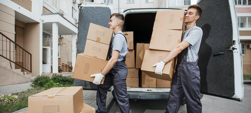 Une aide déménagement qui peut financer le recours à un déménageur professionnel