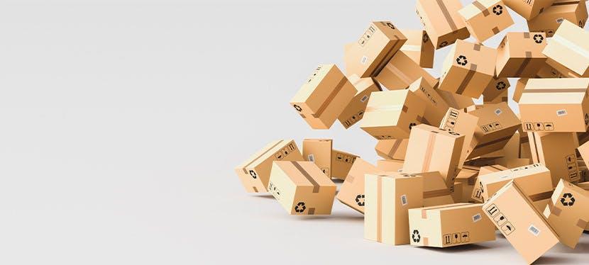 Jouez aux déménageurs et emballez vos affaires à l'aide de cartons d'emballage
