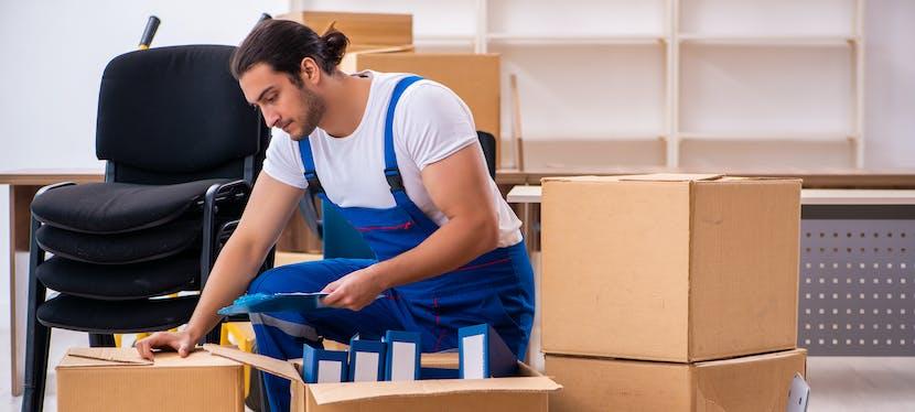 Le déménageur peut garder vos cartons