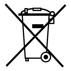 poubelle barrée