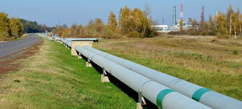 Un pipeline de gaz