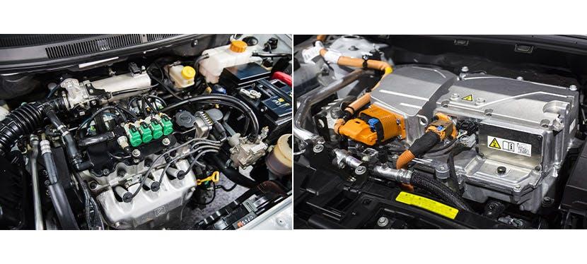 Moteur électrique VS moteur thermique