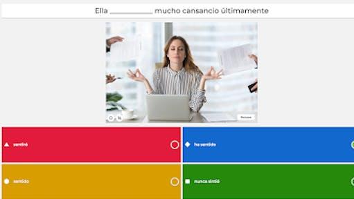 Kahoot es una app gratuita para generar cuestionarios de evaluación interactivos.