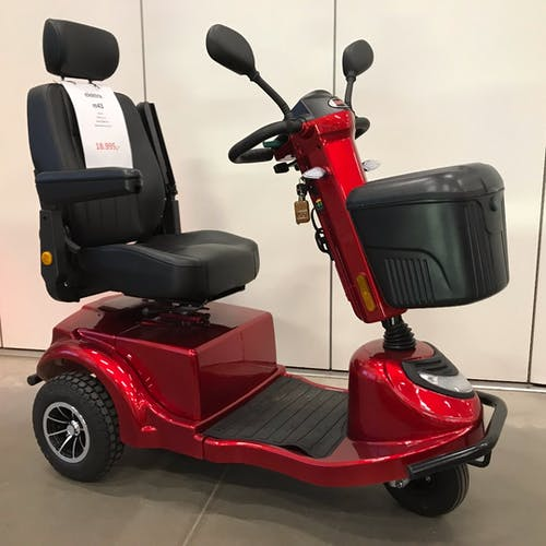 M43 - dejlig 3-hjulet el-scooter til lav pris