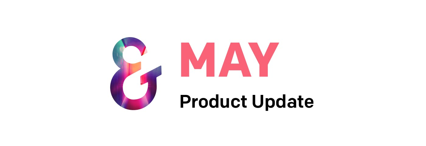 Ember product update for May banner