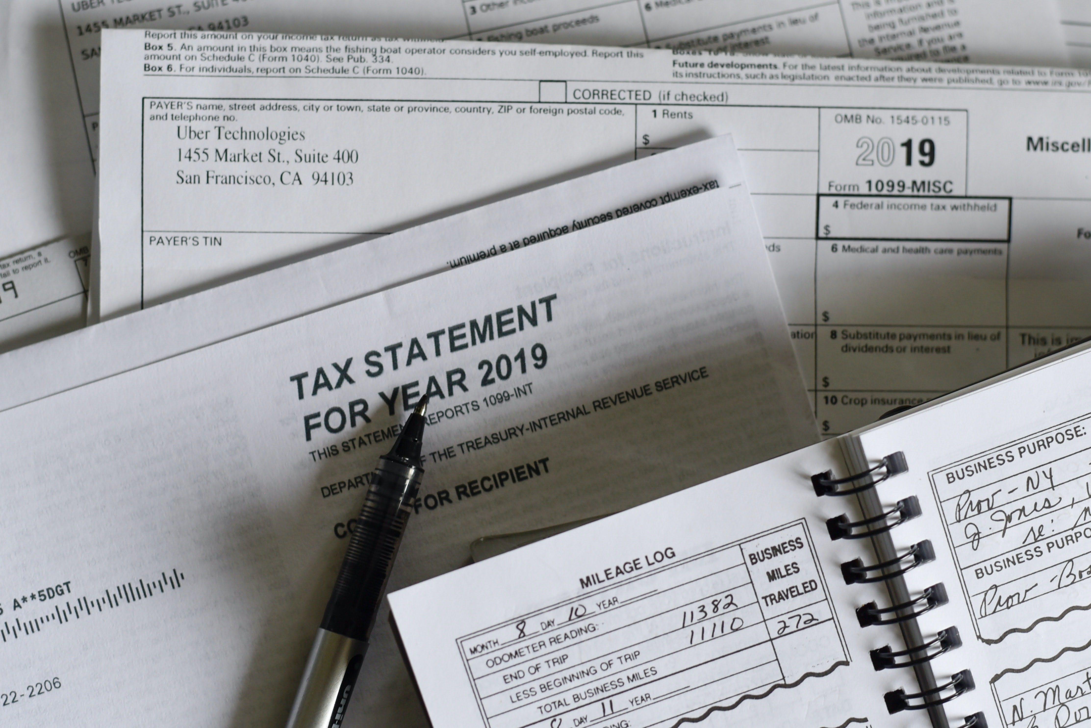 Filing a tax return