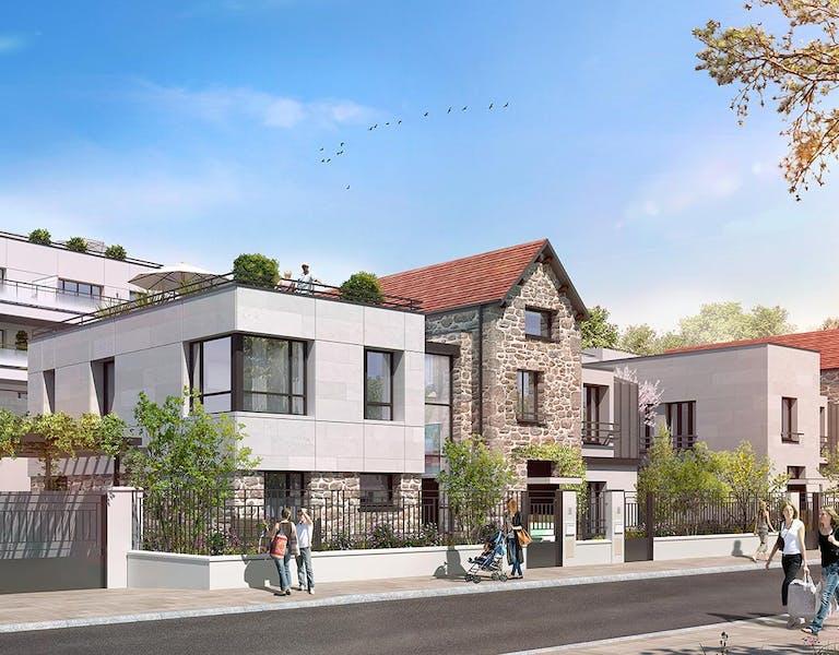 """Programme immobilier neuf à Saint-Maur La Varenne """"60 Avenue Didier"""""""