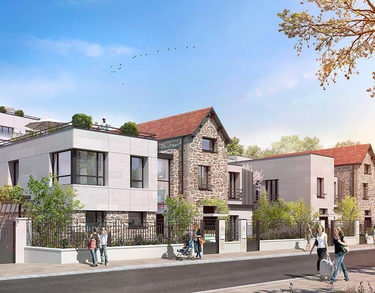 Maisons du programme immobilier neuf à Saint-Maur 60 Avenue Didier