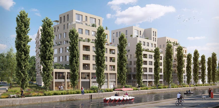 Programme immobilier neuf éligible Pinel à Bobigny, Paris Canal