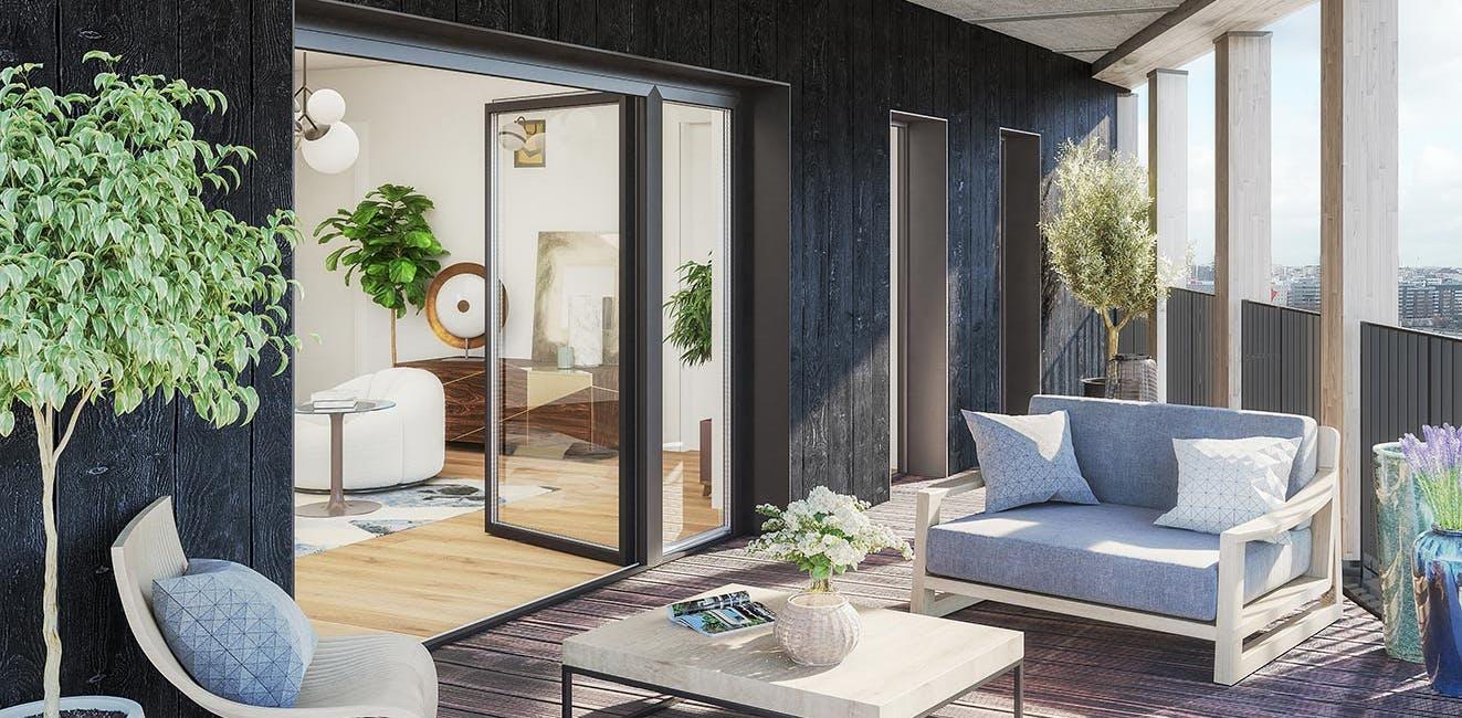 Le programme immobilier neuf Le Berlier à Paris 13